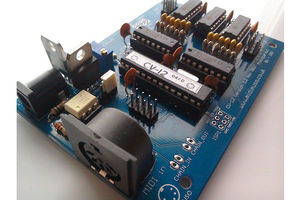 MIDI to CV Converter Kit Midimuso CV12 1