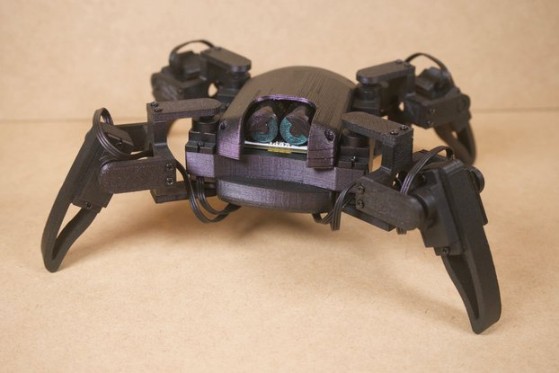 DIY Parts for Q1 mini quadruped robot