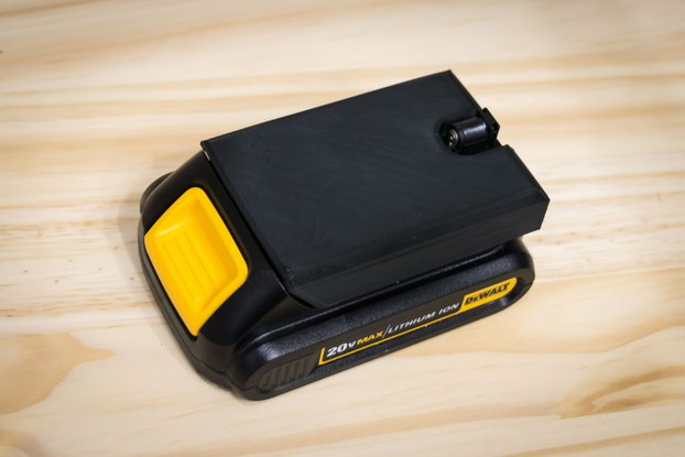 Dewalt Power Supply - Barrel Connector Adapter