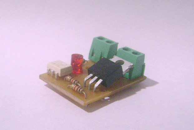 Mini Dimmer AC    30x30mm (90V to 240V)  10A