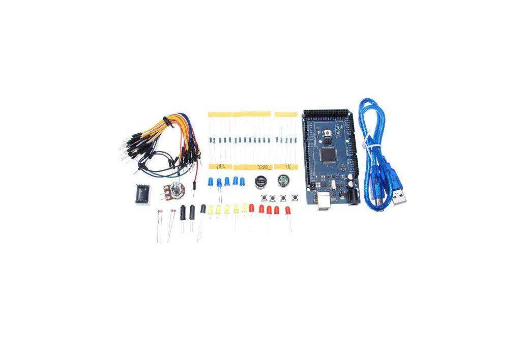 Mega 2560 R3 Development Board Starter Kit Basic Kit For Arduino DIY 1