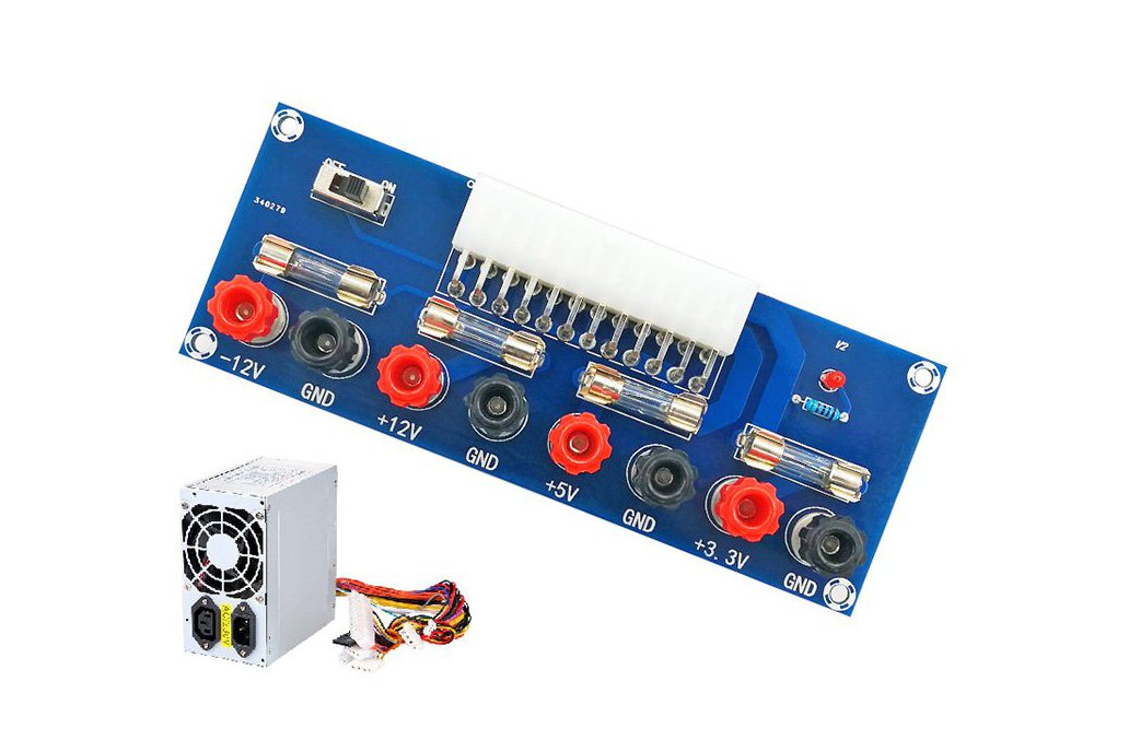 24Pin PC Power Source ATX Pinboard 5A(13095) 1