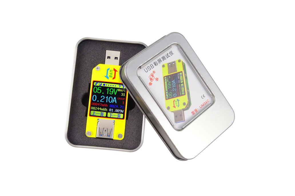 USB 3.0 Full-Color LCD Display Tester 3