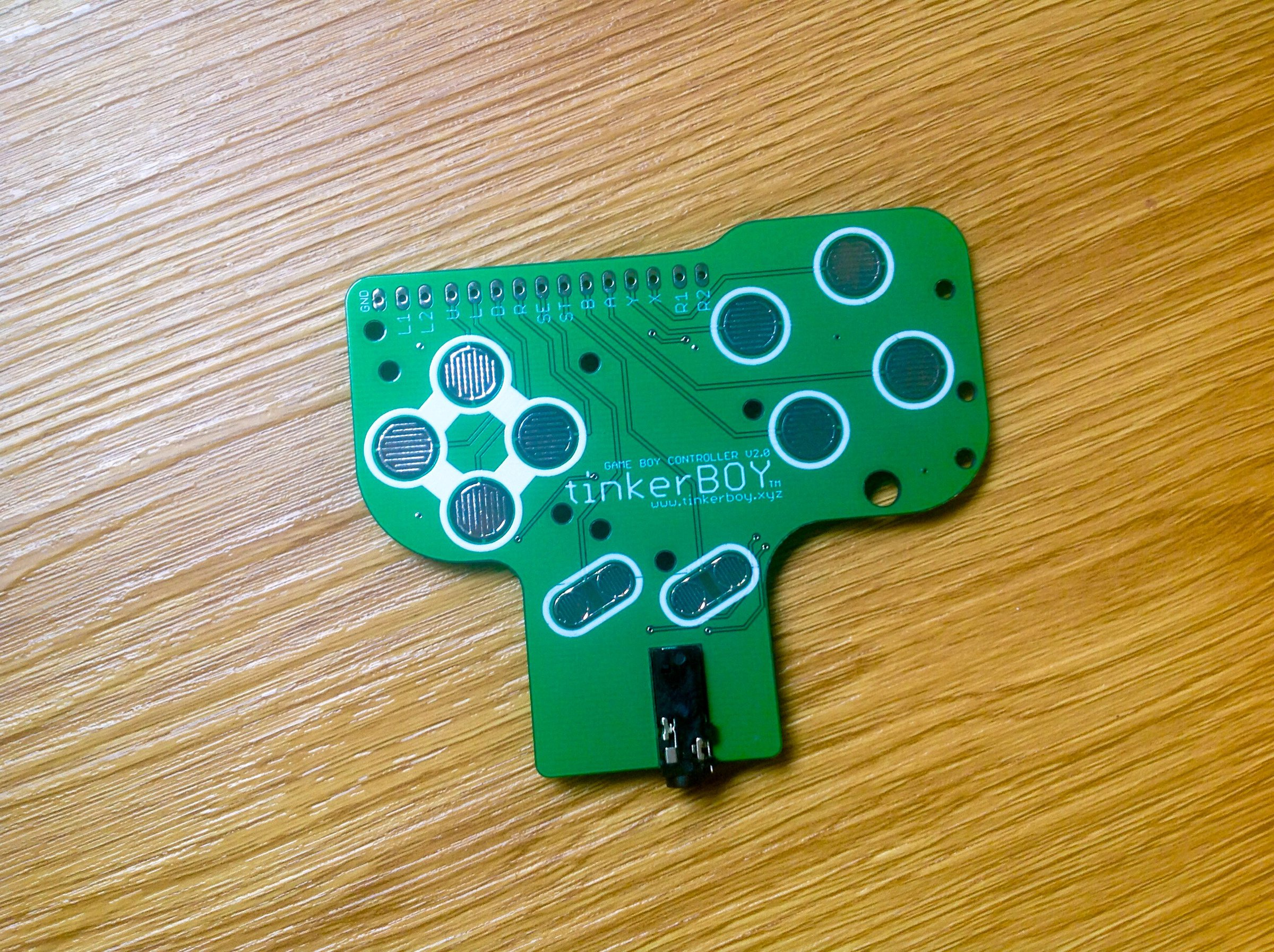 Game Boy Controller V2 0 W Built In Audio Amp From