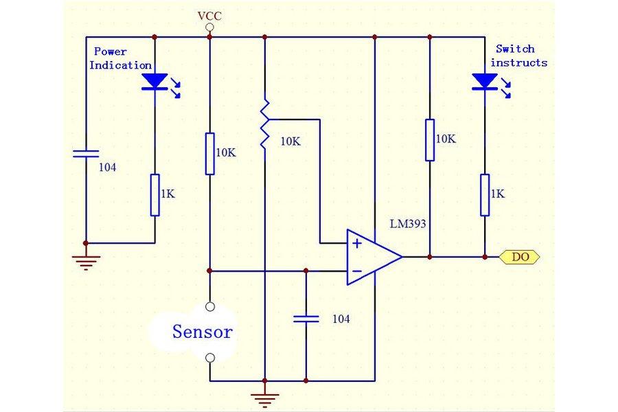 6pc Flame Detection Module
