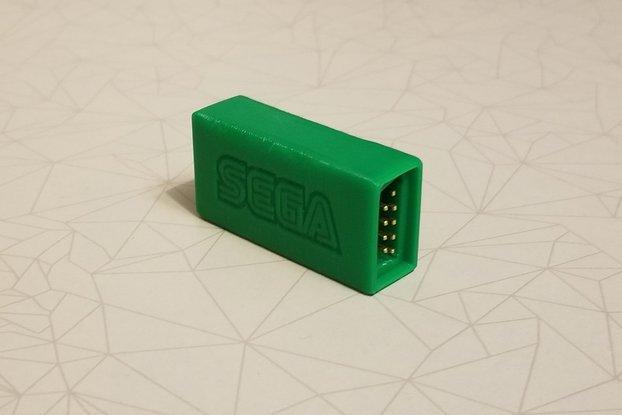 Joystick to usb converter for Sega