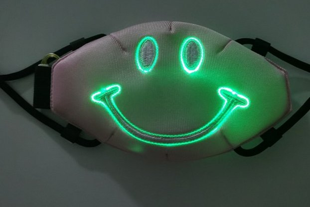 EL Colorful Luminous Voice Control Music Rhythm
