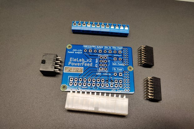 EleLab_v2 - PowerFeed PCB