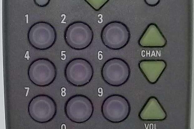39 Button Remote Control with Atmega328PB