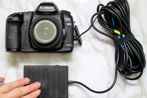 Foot-pedal DSLR Camera Remote