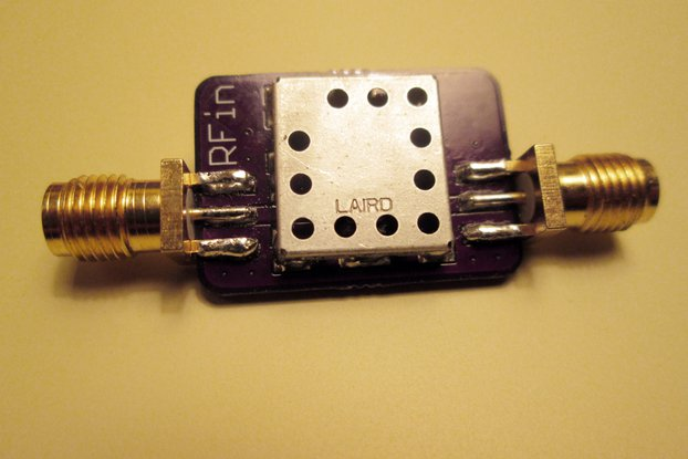 433 MHz Bandpass Filter Band Pass; 5 MHz Bandwidth