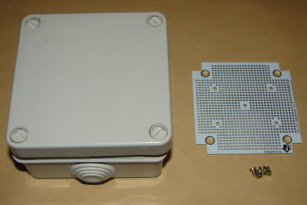 Prototyping Board with a IP55 Box