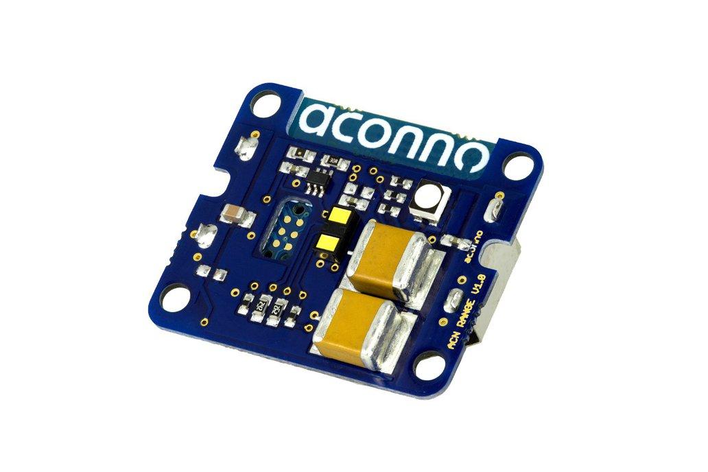 acnRANGE: BT Sensor beacon: Time of Flight 1