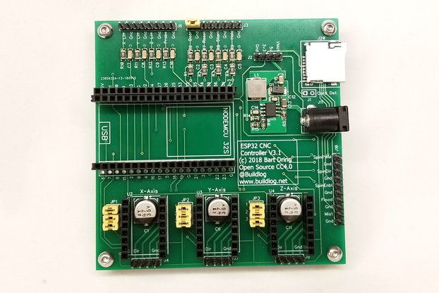 Grbl_ESP32 CNC Development Board V3.5