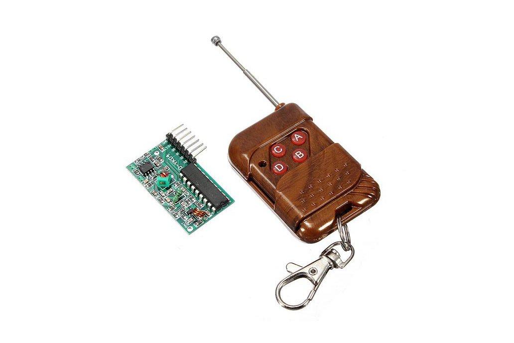 4 Channel Wireless RF Remote Control Receiver 1