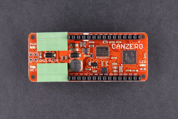 CANZERO, the wired IoT Arduino-compatible node.