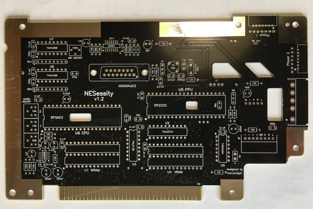 NESessity v1.2 Replacement PCB for NES Console