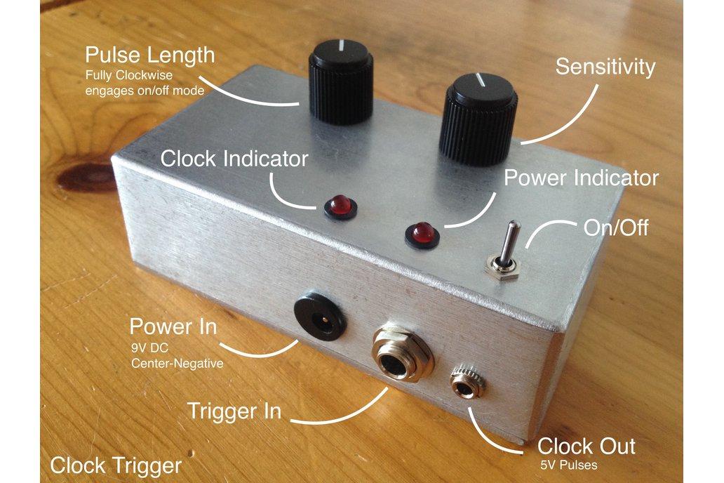 Clock Trigger (Audio to 5V Pulse Converter) 2