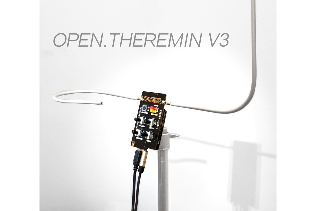 OpenTheremin V3 Shield and Antenna Kit Bundle 1