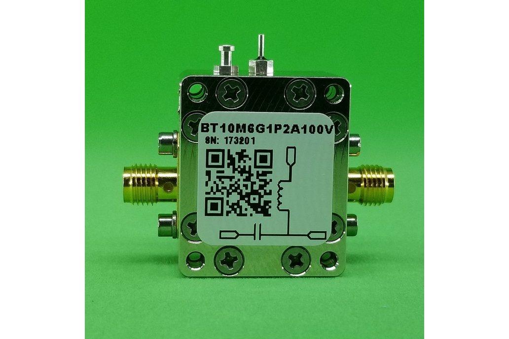 Bias Tee Broadband 10 MHz to 6 GHz Max. 1.2A 100V 1