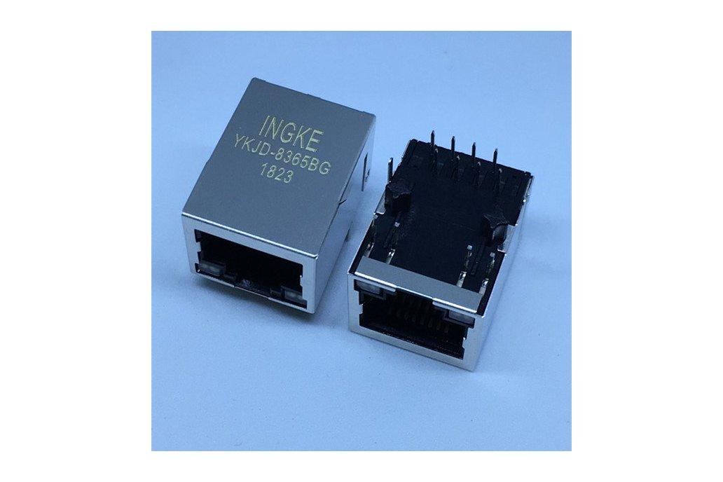 7499010441 Single Port RJ45 Magjack Connectors 1