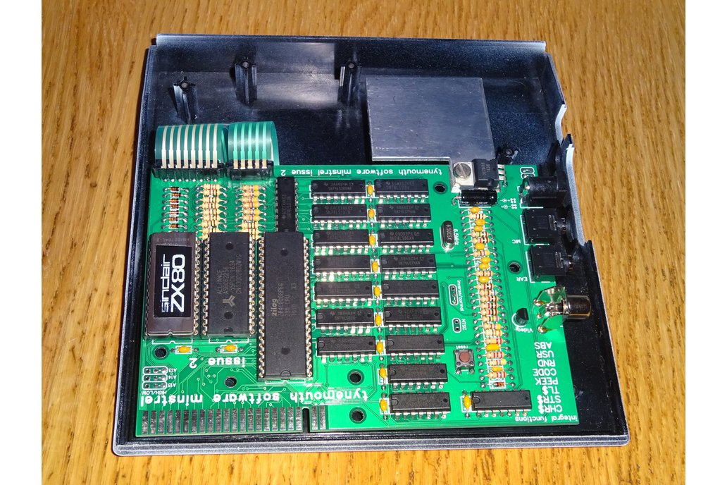 Minstrel ZX80 Clone in White ZX81 case 3