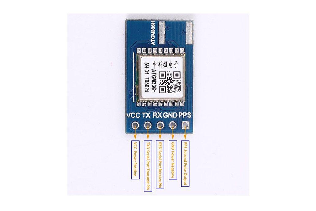 ATGM336H GPS BDS GNSS Positioning Module(12420) 5