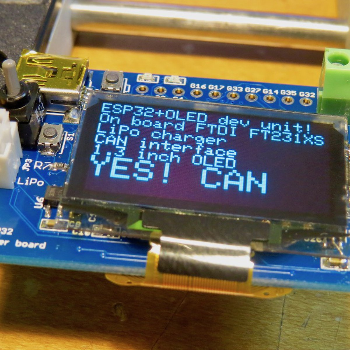 ESP32 CAN CAN board!! from microwavemont on Tindie