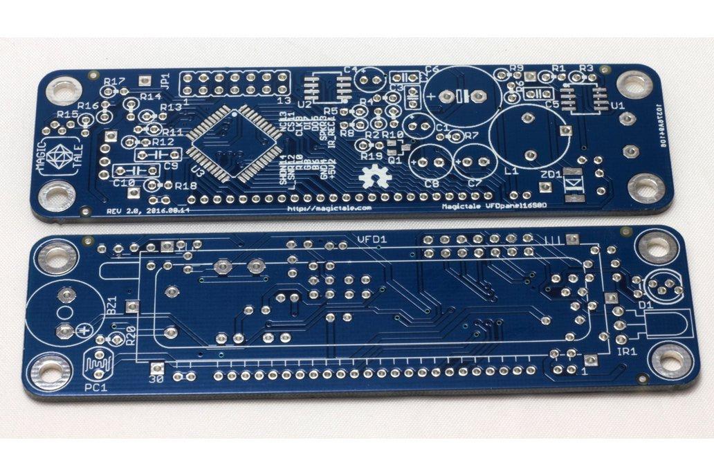 VFD 16 Segment 8 Digits Panel - One Bare PCB  1