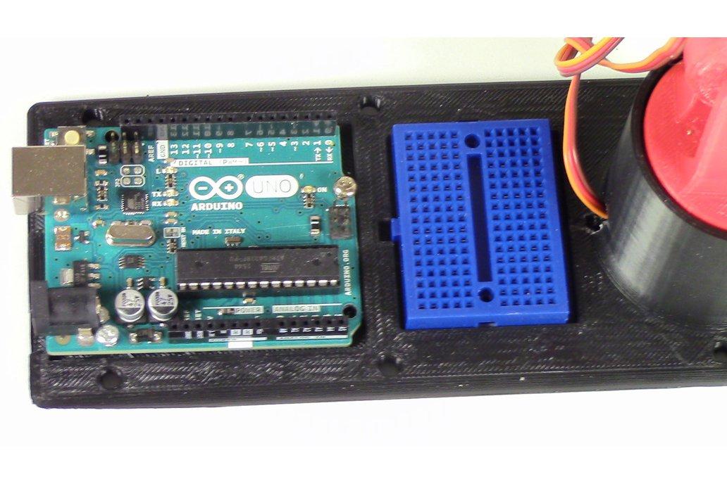 LittleArm: 3D Printed Trainable Arduino Robot Arm 9