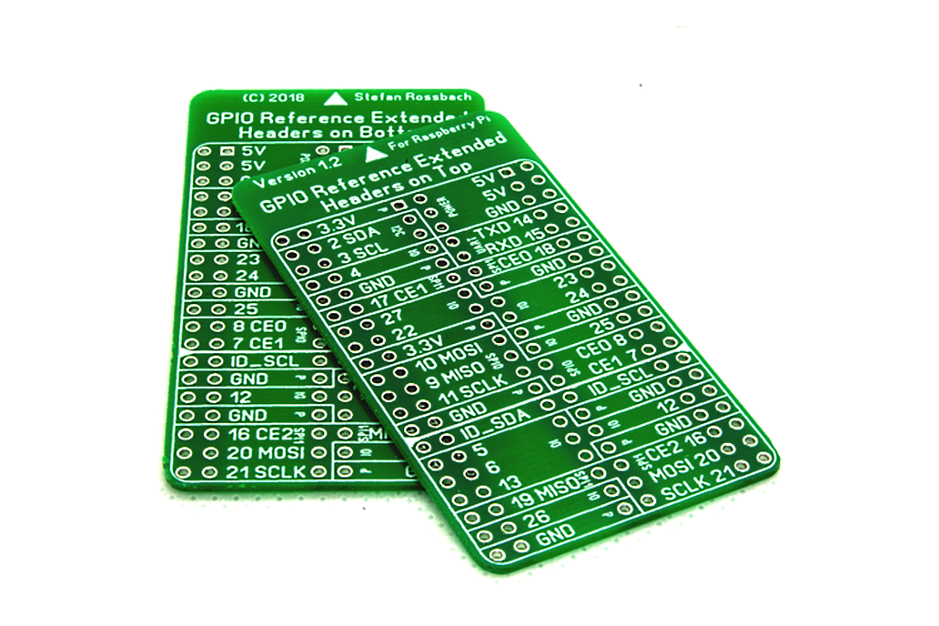 GPIO Reference Extended 1