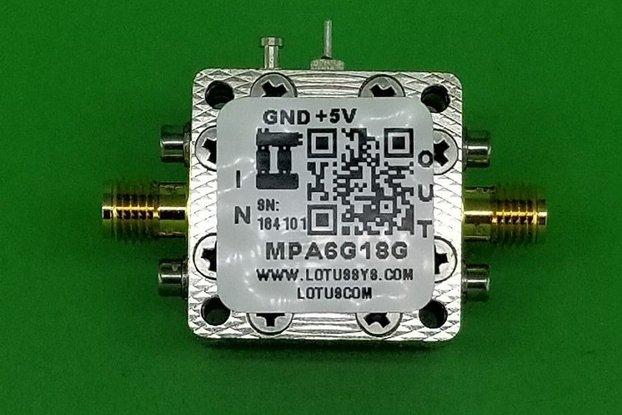 MEDIUM POWER AMPLIFIER 4.5DB NF 6GHZ TO 18GHZ 14DB