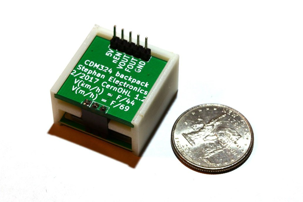 CDM324 Doppler Speed Sensor - Arduino Compatible 1