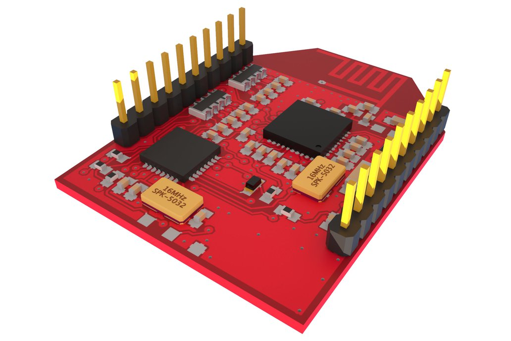 Spread spectrum (DSMX!) module on Xbee footprint 2