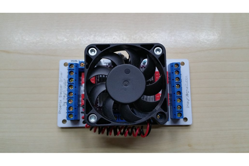 Phoenix CNC Stepper Driver with 4 DRV8825 and Fan 1