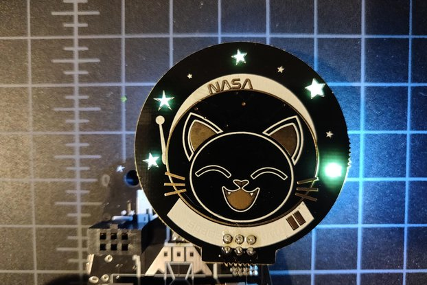 Space Kitty SAO badgelife addon