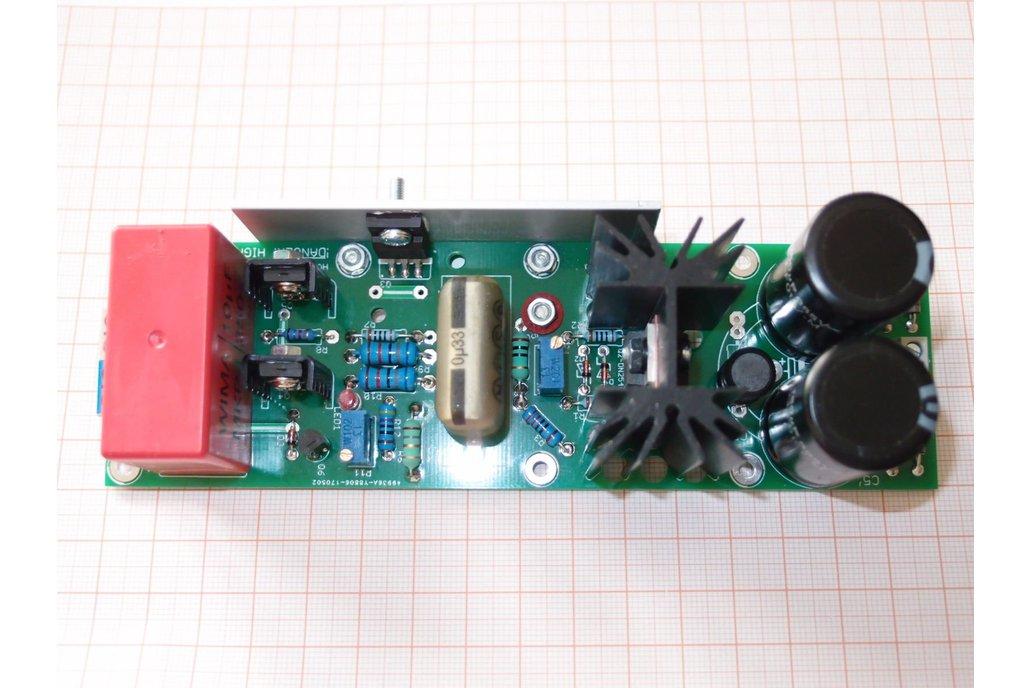 PCB Tube Anode Adjustable PSU Regulator Salas V2 4