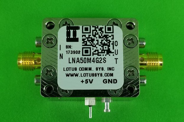 Amplifier LNA 0.8dB NF 50M~4GHz