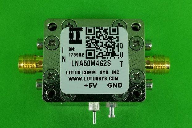 Amplifier LNA 0.8dB NF 50M~4GHz