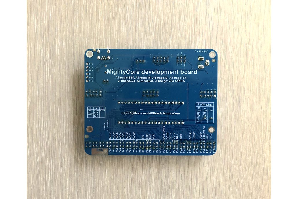 DIP-40 Arduino compatible development board 3