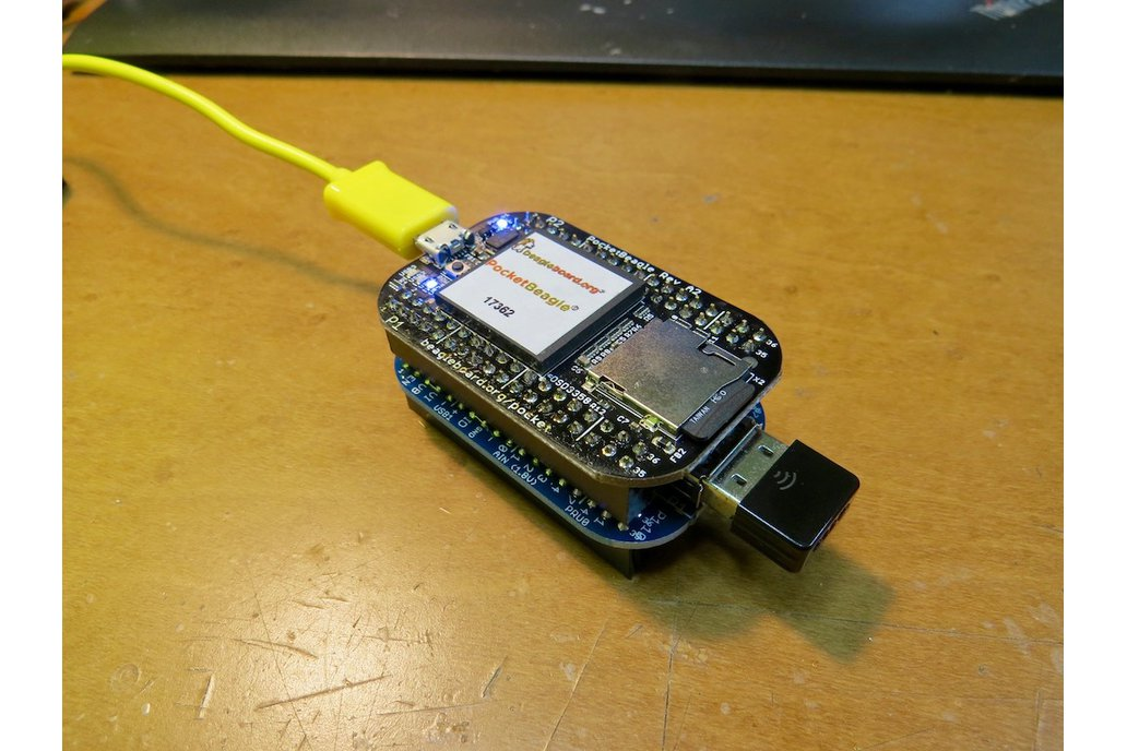 USB host cape for the PocketBeagle 2