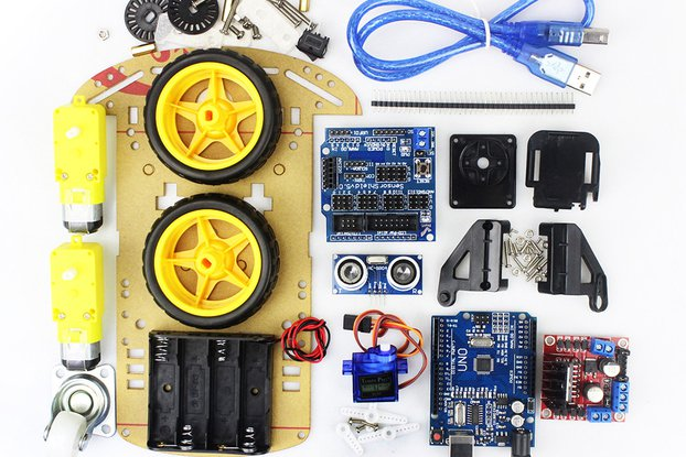 Arduino DIY Smart Robot Car Kit