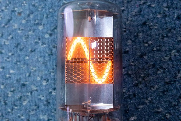 1x Nixie tube Z567M (clear)