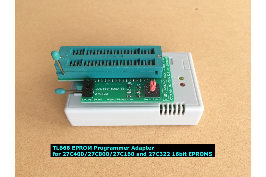 TL866 Adapter for 27C322 & 27C400 /800 /160 EPROMs 3