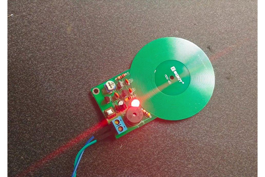 Non-contact Metal Detector Sensor Kit(12556) 1