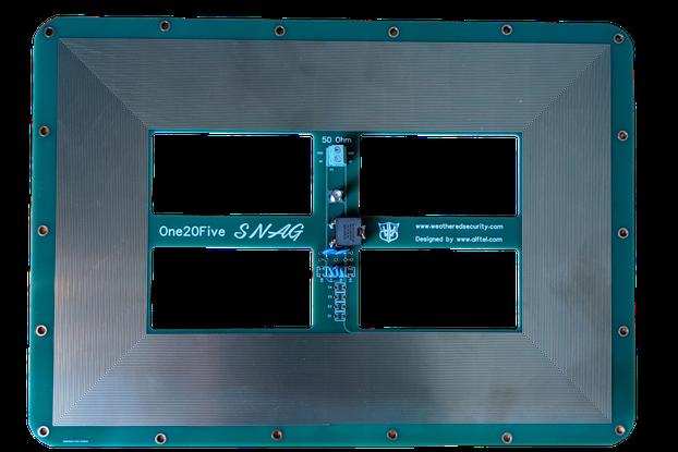 125 kHz RFID/Amateur HAM Antenna