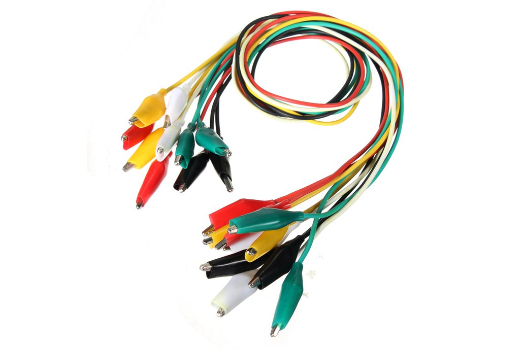 Double-ended Clips Cable Alligator Testing Probe  3