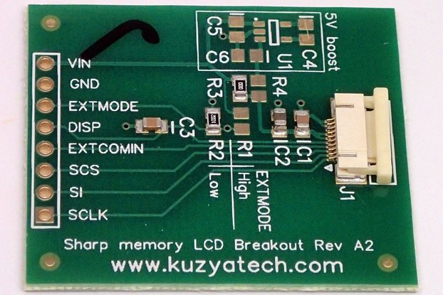 Sharp Memory LCD breakout A2