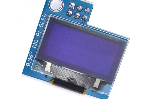 PiOLED - 128x64 0.96inch OLED for Raspberry Pi