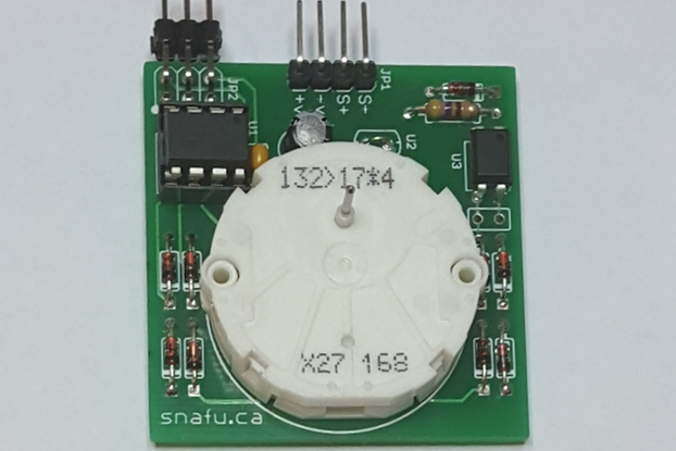 Serial X.27 Stepper Motor Gauge